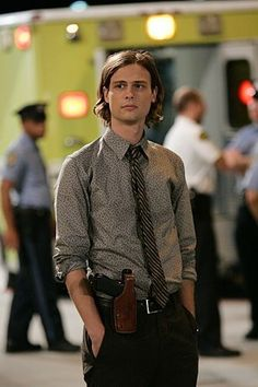 The very cool Dr Reid - Criminal Minds