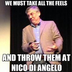 Right? Poor Nico...