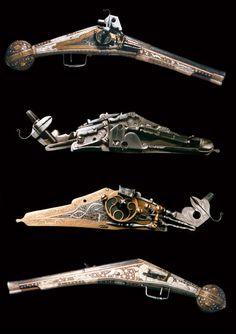 Wheellock Pistol, Nurnberg 1575