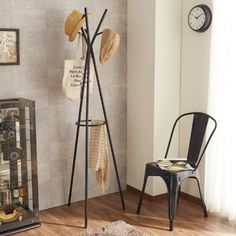 ポールハンガー|通販のベルメゾンネット Hanger Rack, Coat Hanger, Standing Coat Rack, Coat Stands, Wardrobe Rack, Sweet Home, Plastic Canvas, Diy Crafts, Living Room