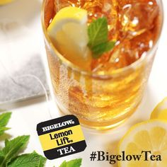 Bigelow Lemon Lift tea would be the perfect drink to enjoy on my front porch on a warm spring day.