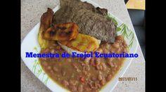 Menestra De Frejol Ecuatoriano