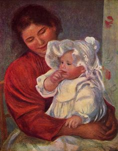 Auguste Renoir - Gabrielle et Jean (c 1895)