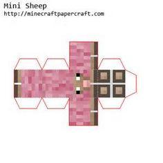 Minecraft pink sheep