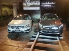 Anteprima italiana per #Mercedes #GLA e #CLA 45 AMG al #MercedesBenzShow