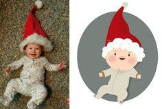 children-photos-illustrations-maria-jose-da-luz14  http://www.boredpanda.com/cute-drawings-from-childrens-photos/