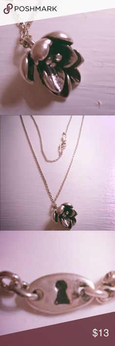 Lotus fossil necklace Lotus fossil necklace Fossil Jewelry Necklaces