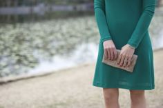 Green Dress | Dallas Wardrobe
