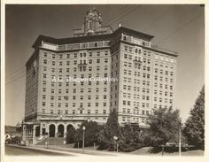 From my own collection, a vintage photo of the Baker Hotel in Mineral Wells, Texas.  Please feel free to repin.
