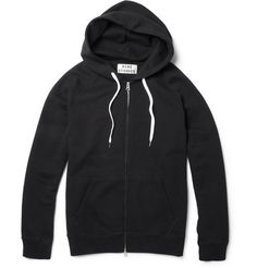 Acne Exclusive College Loopback-Cotton Hoodie | MR PORTER