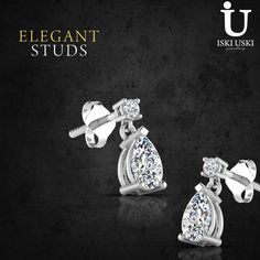 Get the perfect pair of studs earrings today at iskiuski.com