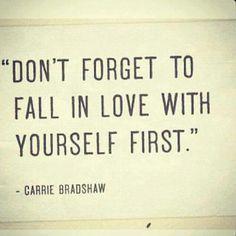 I love Carrie Bradshaw