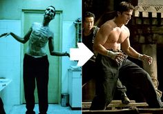 The things Christian Bale does for his movie roles!