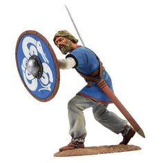 """Alwin"" Saxon Shield Wall Defender No.3 W Britain 62111"