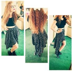 Mahogany LOX... I'm obsessed with her hair.