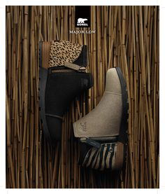A little leopard takes this everyday boot to the next level for fall. The military inspired Major Low premium booties have a canvas lining, leather-wrapped heel, rugged metal zipper and an animal print back. Pair them with your favorite jeans, leggings or skirt this season to add a kick to your fall wardrobe! Choose from a variety of styles, heights and colors at SOREL.