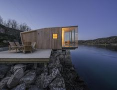 Manshausen Island resort is a Product Launch Venue in Nordland, Norway. See photos and contact Manshausen Island resort for a tour. Design Hotel, House Design, Architecture Design, Pavilion Architecture, Organic Architecture, Building Architecture, Residential Architecture, Timber Cabin, Wood Cabins