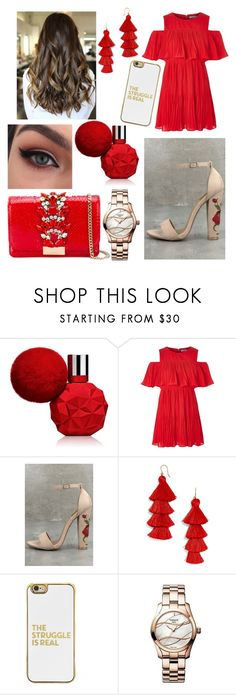 """""""🎁"""" by dilya-kadyrova ❤ liked on Polyvore featuring Fahrenheit, BaubleBar, Tissot and GEDEBE"""