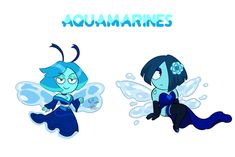 [CLOSED] Aquamarine Adopts 0/2 [PRICE LOWERED] by FlareViper on @DeviantArt