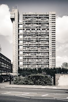 Trellick Tower  This building of apartment flats is actually in London, England, but it was built by Hungarian brutalist architect Ernő Goldfinger in 1972!