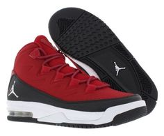 finest selection 8d903 63dfd Jordan Air Deluxe Bg Basketball Junior s Shoes Size 7, Gym Red White Black