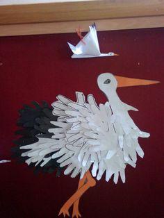 Art For Kids, Crafts For Kids, Rooster, Art Ideas, Preschool, Paper Crafts, Spring, Animals, Home