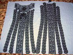 As Receitas de Crochê: Vestido de crochê feito em tiras