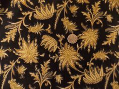 Valley Of The Kings Quilt Fabric Gold Metallic Out Of Print Premium Cotton  #RobertKaufmanFabrics