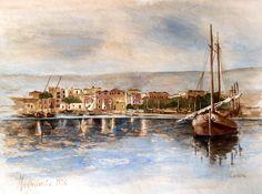 Manfredonia dal mare