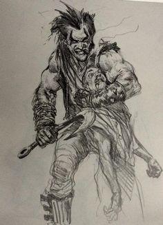Sketch by Karl Kopinski