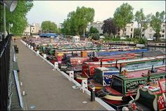 Weird places I've performed in: field next to a canal with huge barges going by #Comedian #JanMcinnis #TheWorkLady  http://www.theworklady.com