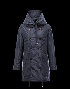 Moncler Baillet double-breasted parka #moncler #spring #summer #womenswear