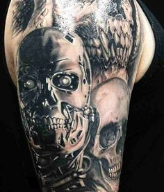 1000+ images about tattoos on Pinterest | Skull tattoos ...