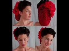 6 PIN UP looks for BEGINNERS ( QUICK and EASY VINTAGE/ RETRO hairstyles) - Vintagious - YouTube
