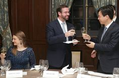 Crown Prince Guillaume and  Crown Princess Stephanie visit China