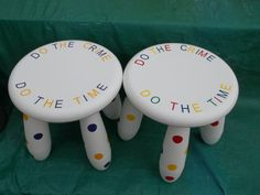 Time out stool/ naughty stool/personalized