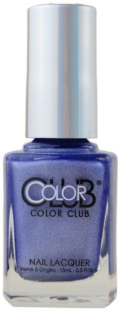 Crystal Baller by Color Club Spa Branding, Polish Names, Color Club, Light Blue Color, Nail File, Nails Magazine, Manicure, Nail Polish, How To Apply