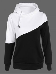 GET $50 NOW   Join RoseGal: Get YOUR $50 NOW!http://www.rosegal.com/plus-size-hoodies/two-tone-plus-size-jumper-835768.html?seid=6961945rg835768