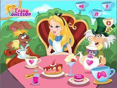 Alice Back From Wonderland - Funny Games For Kids
