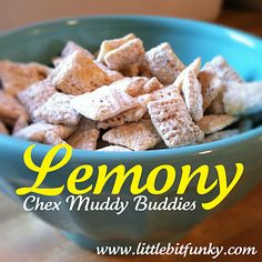 Lemony Chex Muddy Buddies