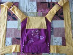 Tuto Mei Tai avec capuche et pinces (et bretelles rembourrées) Meloncollie