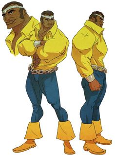 Power Man - Sanford Greene