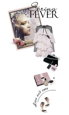 """Ruffles"" by kari-c ❤ liked on Polyvore featuring Philosophy di Lorenzo Serafini, Sophia Webster, Dolce&Gabbana, Jimmy Choo, RGB Cosmetics and ruffles"
