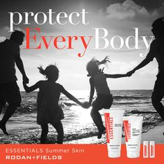 Did you know one day without sunscreen can ruin a month's worth of good habits?   As we head into summer☀️ I wanted to let you know about some great products Rodan + Fields has to add to you and your family's daily routine for UVA/UVB protection from head to toe:  ESSENTIALS Body Sunscreen Broad Spectrum SPF 30 ESSENTIALS Lip Shield Broad Spectrum SPF 25 Two-Pack  ESSENTIALS Daily Body Moisturizer   Message me now on how to get yours today! Let's all use smart sun protection this summer.☀️