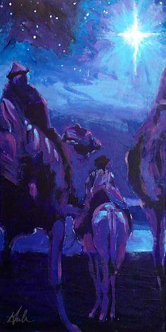 O Holy Night - Artist Steve Gamba