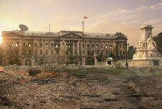 Post-apocalyptic Landscapes of Famous Places4