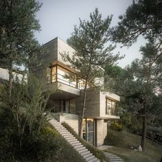 House in Nature by DesignRaum