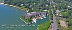 """""""It's all about Location, Location, Location!"""" says Nicholas Planamento when discussing in North Fork Real Estate Showcase his #Greenport listing with spectacular views overlooking Greenport Harbor. $999,000 IN:19013 #NorthFork #RealEstate"""