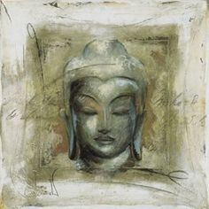 Buy Elvira Amrhein- Innerer Friede Buddha Framed Print, 88 x from our Pictures range at John Lewis & Partners.