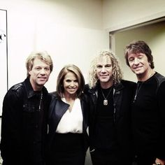 Jon, David and Ritchie on Katie Couric's show (Mar 2013)